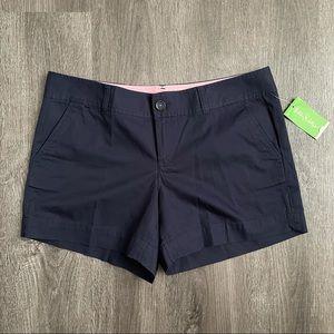 (NWT) Lily Pulitzer True Navy Callahan Shorts 12